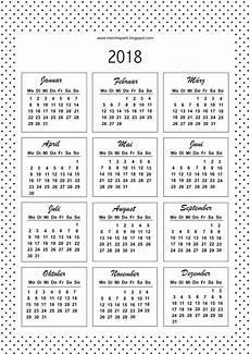 mini kalender 2018 2018 kalender kalenderkarten schwarz weiss deutsche