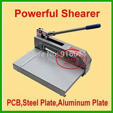 fast free shipping powerful shear knife paper cutter pcb board steel plate shearer cut aluminium