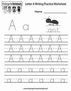 letter a writing worksheets for preschoolers 23682 kindergarten letter a writing practice worksheet printable writing practice worksheets