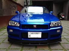 1999 nissan skyline r34 gtr bayside blue 6 speed jm imports