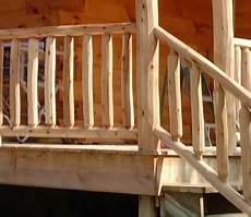 Log Railing Log Cabin Supplies Log Cabins For Less