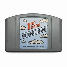 new n64 console n64 cleaning cartridge nintendo 64 console cleaner 1upcard