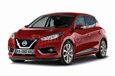 2017 nissan micra rendered in production guise
