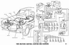 1965 mustang ignition switch wiring diagram schematic 1965 mustang wiring diagrams average joe restoration