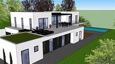 exemple de plan de maison en 3d gratuit plans 3d maison contemporaine