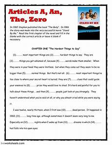worksheets on indefinite articles 18919 articles a an the zero interactive and downloadable worksheet you can do the exercises