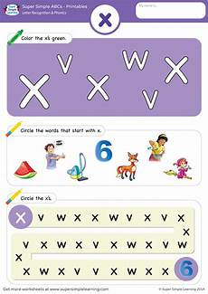 x worksheets phonics letter recognition phonics worksheet x lowercase super simple