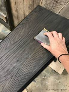 How To Paint A Table With The Best Black Furniture Paint