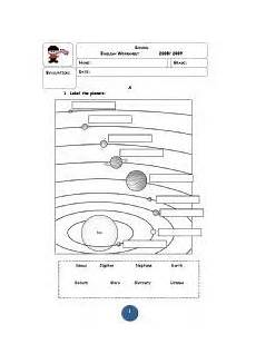 earth science solar system worksheets 13375 pin on bullentin boards