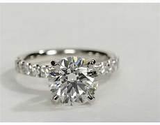 3 carat diamond scalloped pav 233 diamond engagement ring recently purchased blue nile