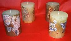 decoupage su candele come realizzare un candelotto decorato hobbydonna it