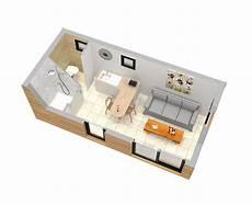 studio de jardin avec mezzanine pour optimiser l espace
