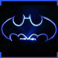 7 color batman hero logo table top l led acrylic mood light sign jr s room ideas