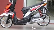 Modifikasi Honda Beat 2019 by Modifikasi Standar Honda Beat Honda Icon 2019