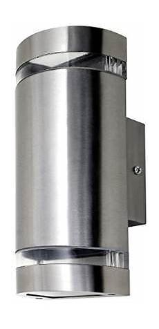 stainless steel outdoor wall lights shopstyle uk