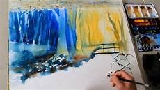 eckard funck aquarell malen ohne vorzeichnen 1
