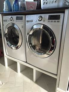 washer dryer pedestal and surround laundry room storage laundry room laundry pedestal