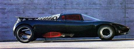 Sbarro Osmos Concept Car 1989 With Hubless Wheels And