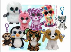 Ty Beanie Boo grote ogen knuffel   mega populair   alle