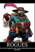 Image result for Dungeons and Dragons Rogue Meme