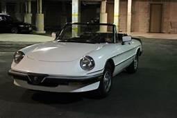 Sell Used 1985 Alfa Romeo Spider Veloce In Glen Ridge New