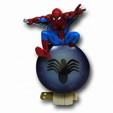 spider man figural night light