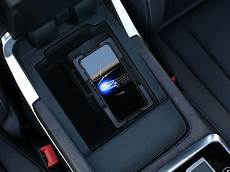 2018 audi s4 inductive charger spacers phone box equipped 8w0051431 genuine audi accessory