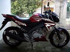 Vixion 2013 Modif by Modif Striping New Vixion Merah Lighting Style