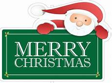 merry christmas santa claus holiday sign kit mkt207
