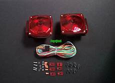 road curb side trailer lights plus 25 wiring harness kit with 4 way plug ebay