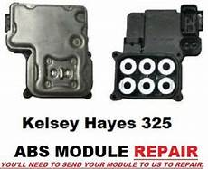 repair anti lock braking 2003 gmc sierra 3500 windshield wipe control chevrolet tahoe abs module repair 1999 2008 kelsey hayes 325 ecbm antilock ebay