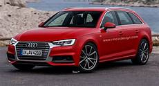All New Audi A4 Avant B9 Facelift Rendered Already