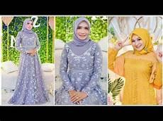 Model Baju Gamis Simple Elegan Dan Modern Buat Pesta