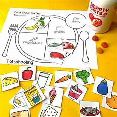 food lesson worksheets 19352 teach about healthy with a food sorting activity con im 225 genes actividades