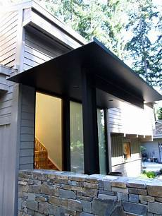 Steel Plate Canopy House Entrance In 2019 Steel
