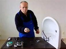 ablaufgarnitur waschbecken montieren montageanleitung waschbecken anbau abfluss wasserhahn