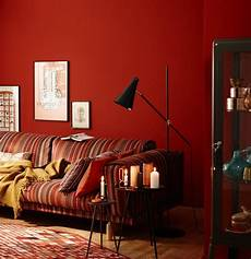 rote wandfarbe wandfarbe wohnideen mit eine wand in rot living at