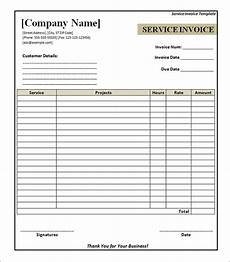 service invoice 28 documents in pdf word