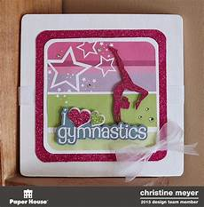 scrapping with christine gymnastics projects
