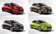 Opel Adam Farben - opel adam priced from 11 500 euros gm authority