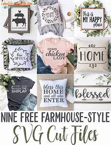 free farmhouse style svg files cricut craft room