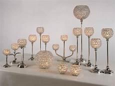 kristall kerzenst 228 nder mini 2er set teelichthalter