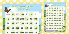 skip counting by 50s worksheets 12075 counting in 50s maze worksheet worksheet made