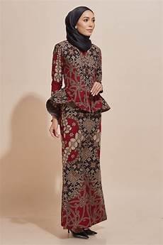 kaisara kebaya peplum batik code ks13 habra fashion gallery