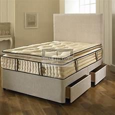 2000 pocket spring organic cotton pillow top mattress