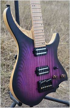 steinberger headless guitar nk headless electric guitar steinberger style model purple burst color maple neck in stock