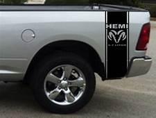 Product 2 Hemi 57 Liter Ram Stripe Dodge Truck Vinyl