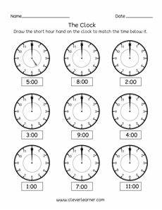 time worksheets on the hour 3122 tell the time to the hour activity worksheet