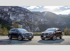 2017 Hyundai Santa Fe XL vs 2017 Kia Sorento Comparison