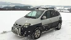 renault scenic rx4 scenic rx4 snow drift wiejski drift 2013 part ii